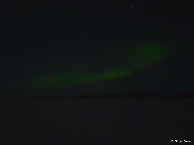 By far not a perfect picture, but it's the Northern Light ladies and gentlemen!