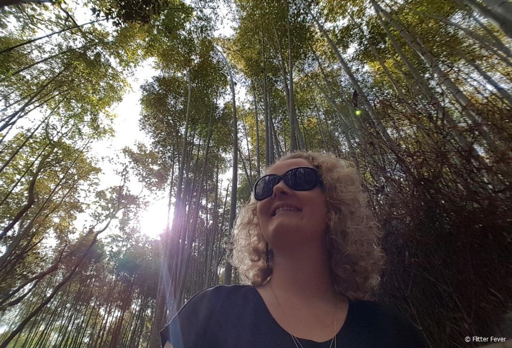 Arashiyama bamboo forest @ Kyoto