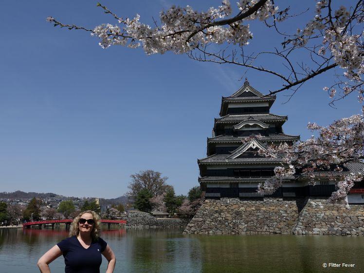 Ik & de bloesem @ het kasteel van Matsumoto