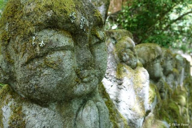 Otagi Nenbutsu-ji temple near Arashiyama bamboo forest