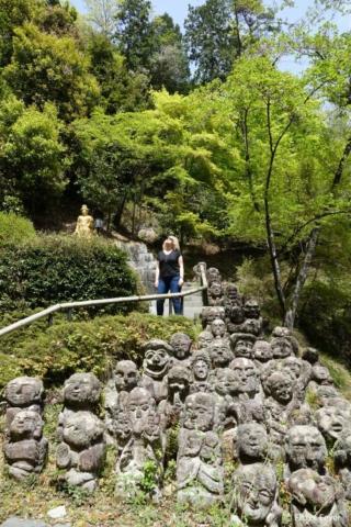Otagi Nenbutsu-ji - such a gorgeous place