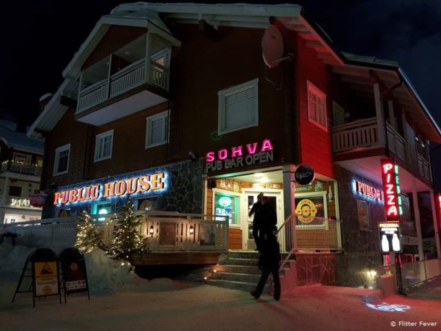 Sohva Pub Bar across Levi Market