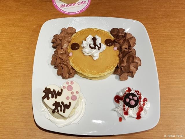 Bear pancake @Home Maid Cafe Tokyo