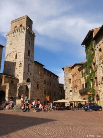 The main square of San Gimignano