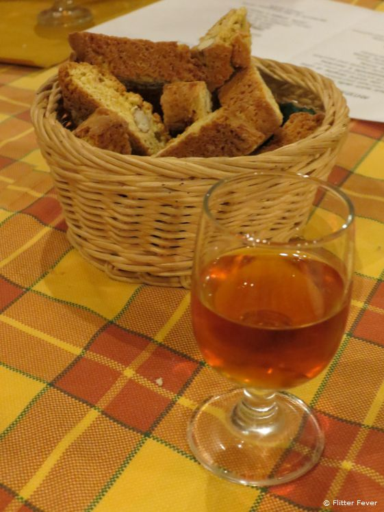 There is nowhere in the world a better place to drink Vin Santo (a.k.a. San Vincenzo)