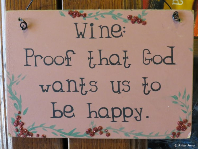 Wine is proof that God wants us to be happy