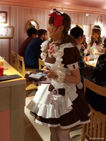 Maid Cafe Akihabara Tokyo