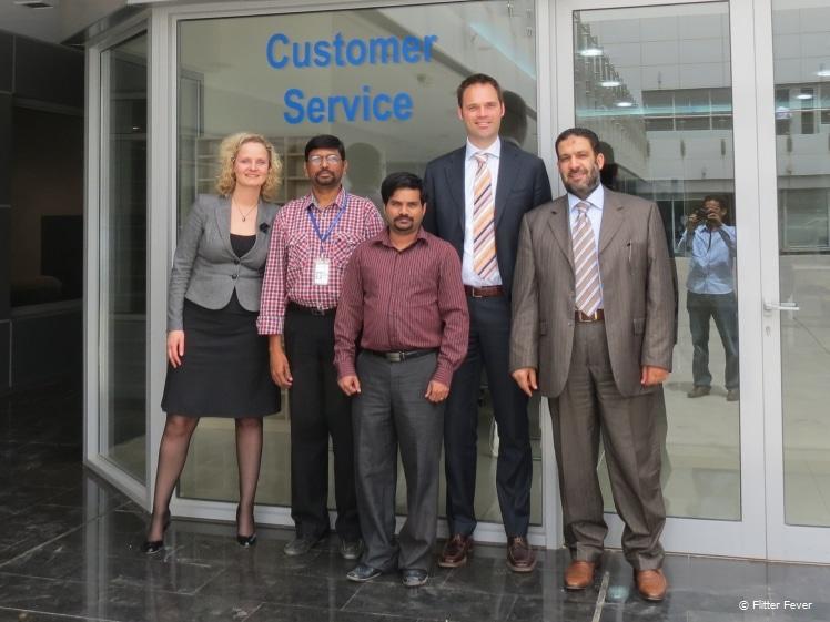 Meeting Kuwaiti colleagues