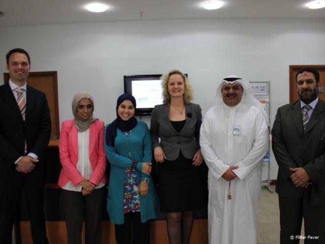 Meeting Kuwaiti distributor