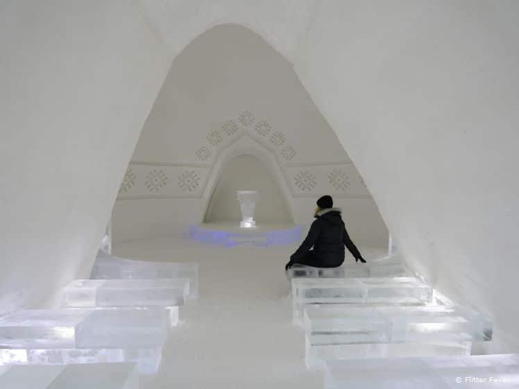 Ice chapel of SnowVillage