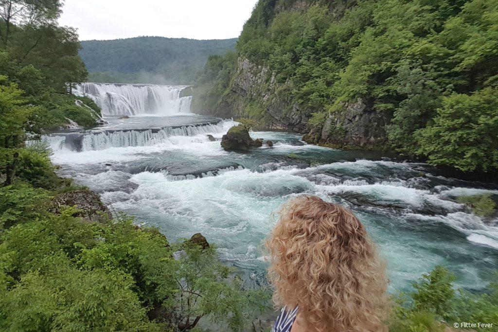 Štrbački buk waterfalls in Una NP