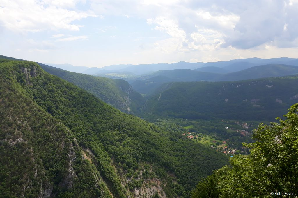 Bosnian landscape views on our way to Una NP