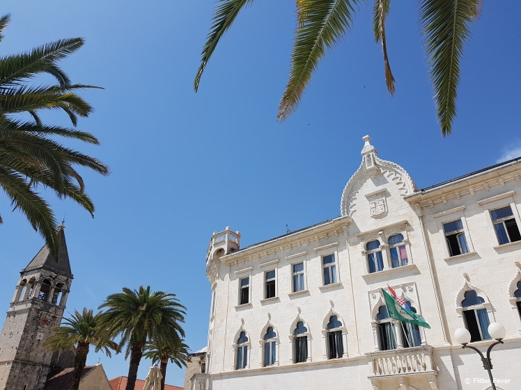 Church and Monastery of St. Dominic and Lucic Palace in Trogir