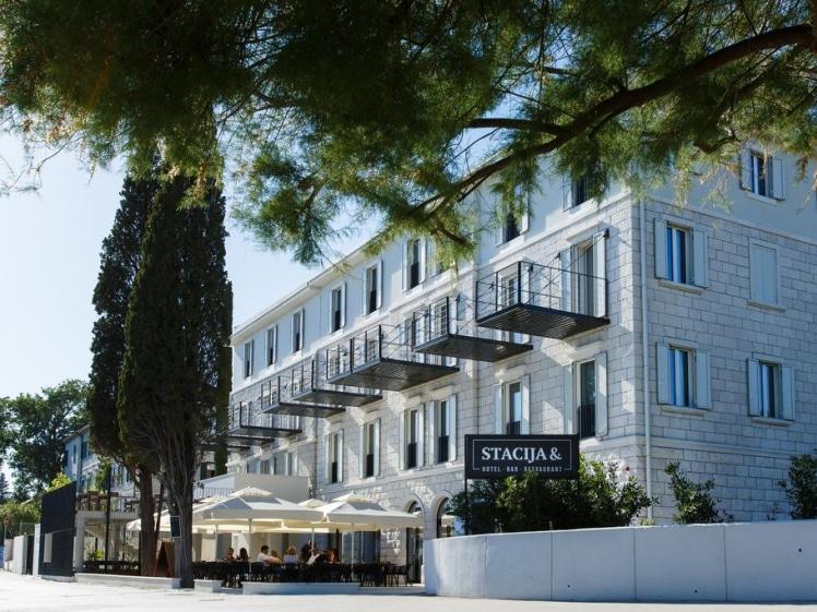 Hotel Štacija near Trogir and Split