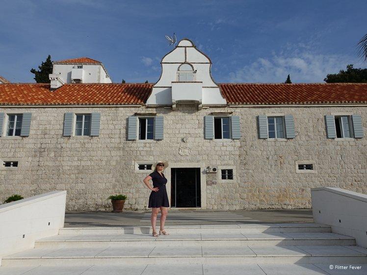 The exclusive Hotel Baština at Čiovo Island near Trogir