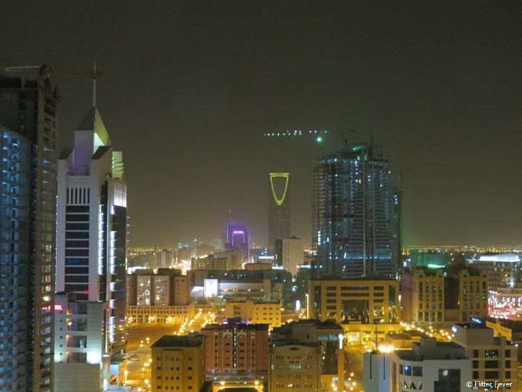 View from Al Faisaliah tower