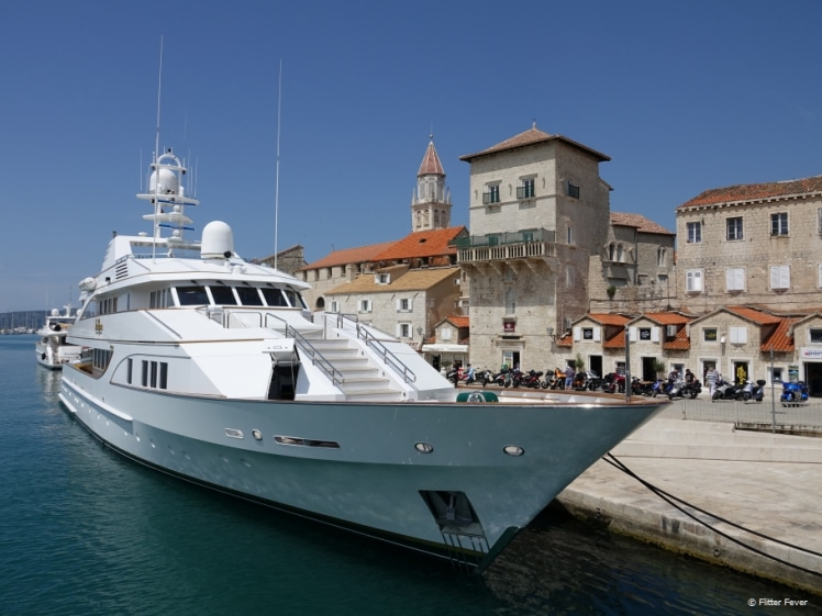 Renting a private yacht is pricey