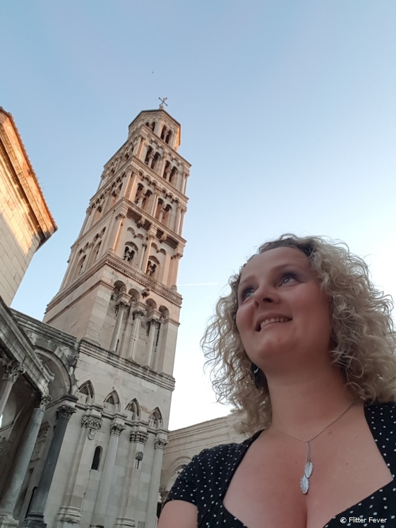 Cathedral of Saint Domnius next to Diocletian's Palace in Split