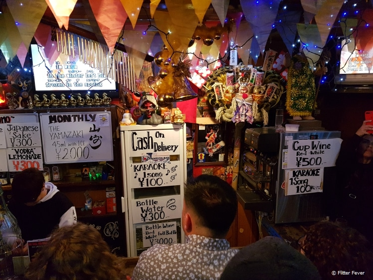Champion Karaoke Bar in Golden Gai, Shinjuku, Tokyo