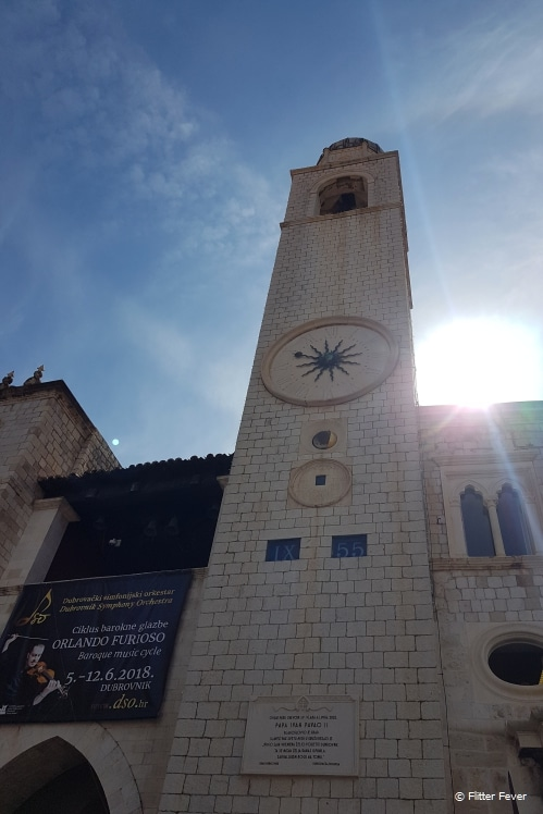 Dubrovnik Clock tower
