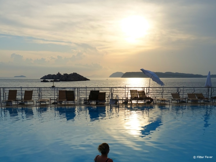 Dubrovnik Palace pool view