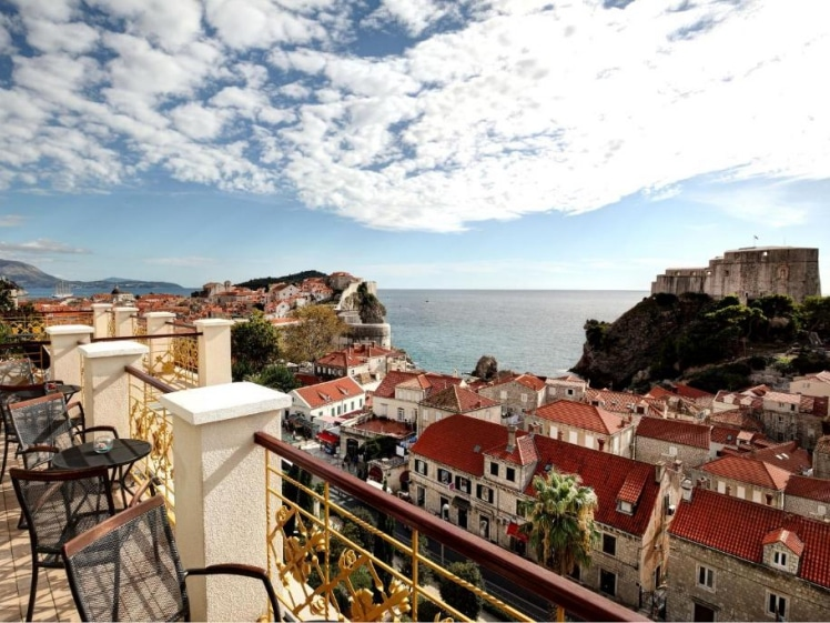 Hilton Imperial Dubrovnik view