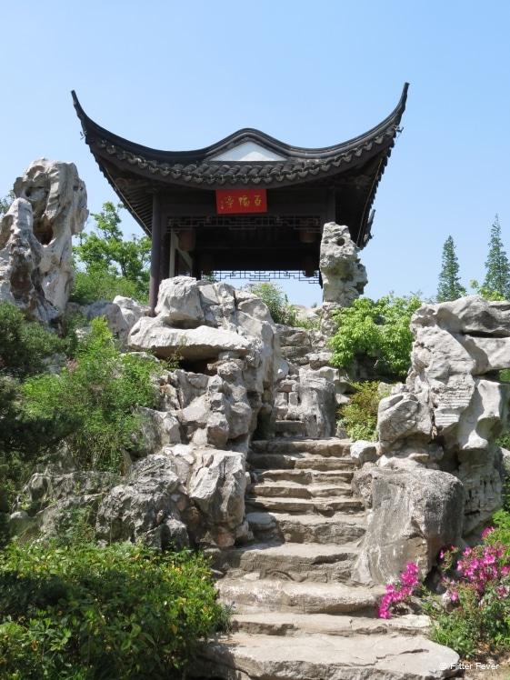 KeZhi Garden stairs up