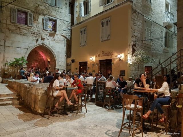 La Bodega in the old town centre of Split