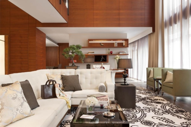 The Langham Xintiandi in Shanghai offers spacious suites