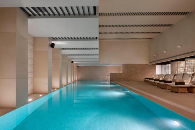 The Langham Xintiandi Shanghai indoor pool
