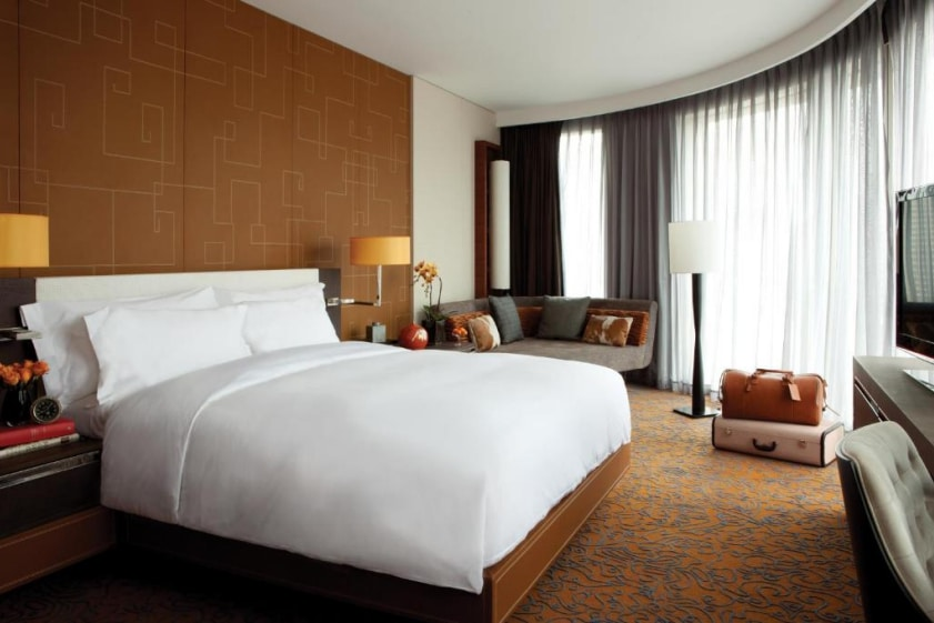 The Langham Xintiandi rooms and suites are super spacious