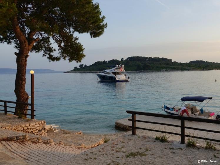Serenity at Duga Bay, Čiovo Island early evening