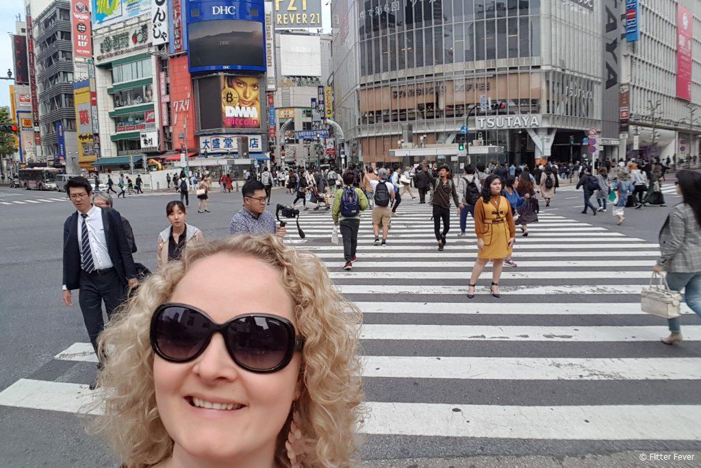Shibuya Crossing intersection tokyo