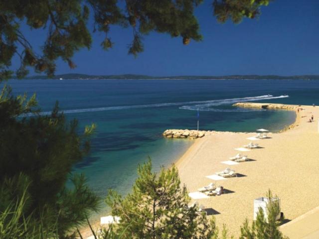 Trstenik beach at Radisson Blu