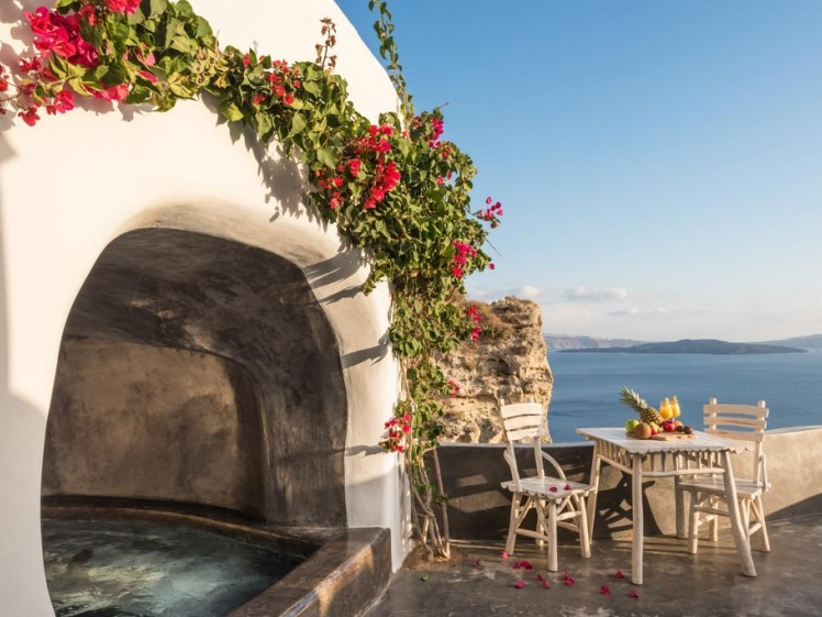 Andronis Boutique Hotel cave pool