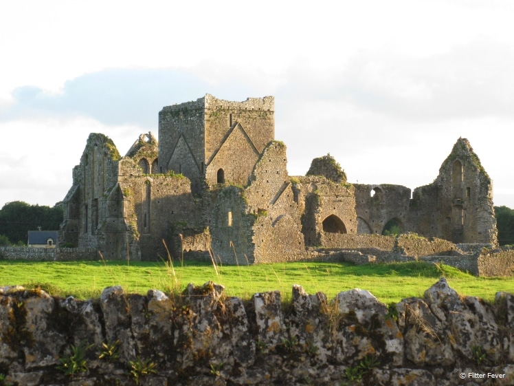 Castle ruin in Ireland