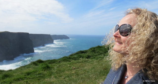 Cliffs of Moher and me