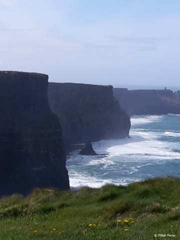 Cliffs of Moher on a sunny day