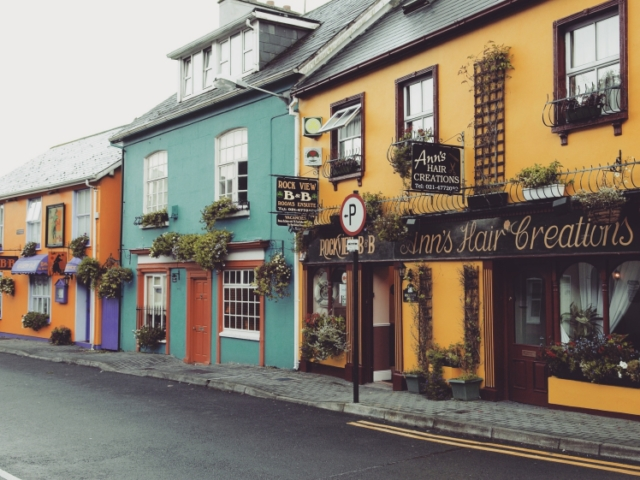 Colorful Kinsale (Lonely Planet)