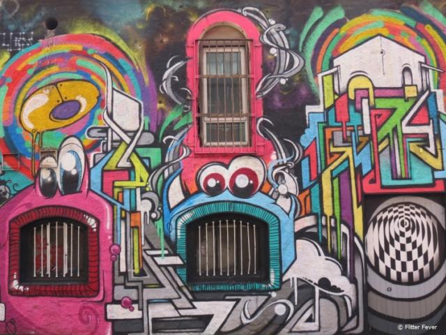 Creative funky street art in Cork