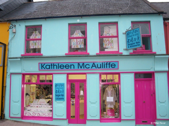 Dingle colorful shop Kathleen Mc Auliffe