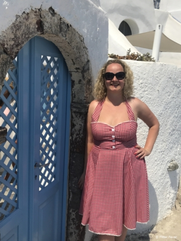 Enough cute doors in Oia to satisfy the door lovers out there