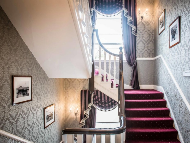Gabriel House Guesthouse in Cork stairs