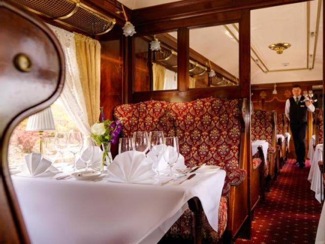 Glenlo Abbey Hotel Orient Express restaurant in Galway