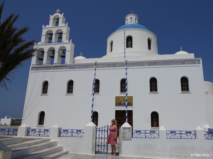 Me @ Panagia Church in Oia, Santorini