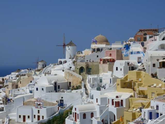 Oia's typical architecture