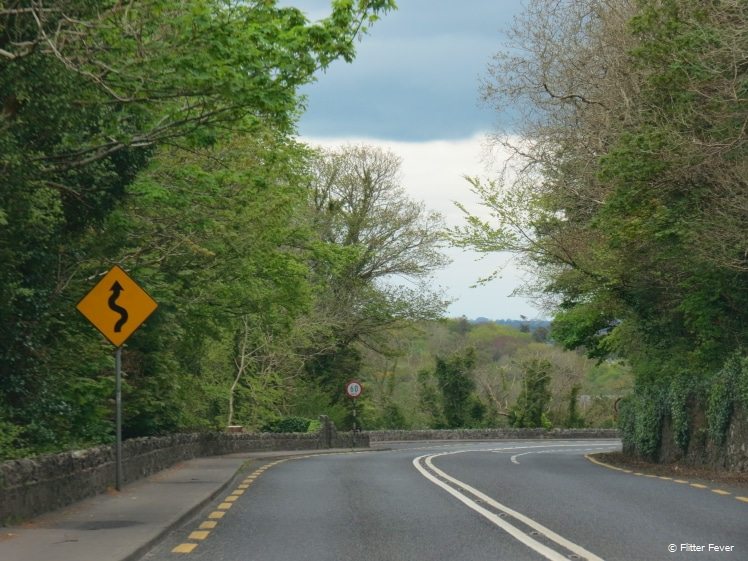 Ring of Kerry road sign