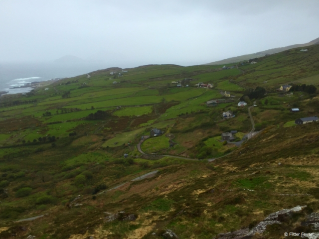 Ring of Kerry sea view