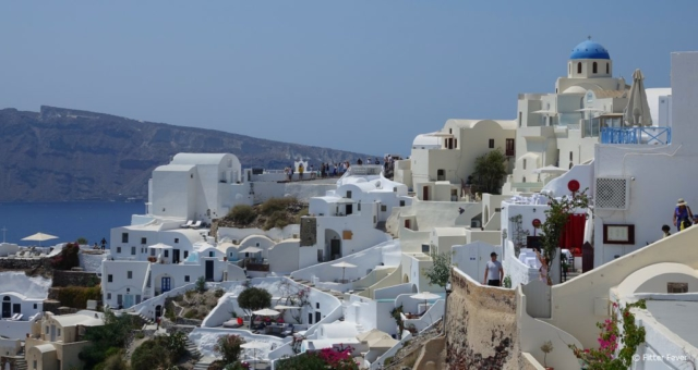 Santorini's typical architecture