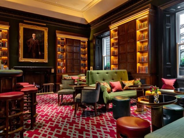 Lounge of The Shelbourne Dublin, A Renaissance Hotel in Dublin